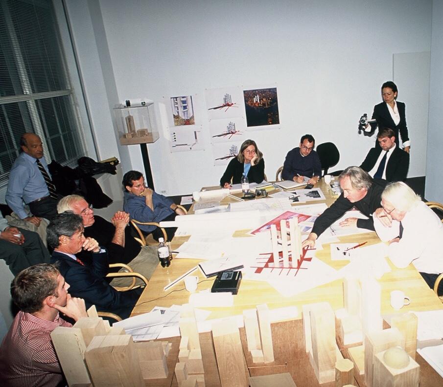 Richard Meier's team