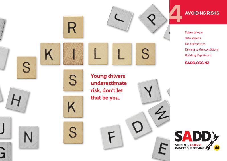 Avoiding risks - A4 poster