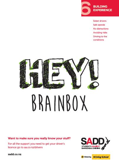 Hey! Brainbox - A4 poster