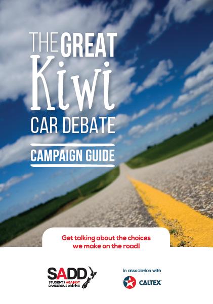The great Kiwi car debate - Campaign guide