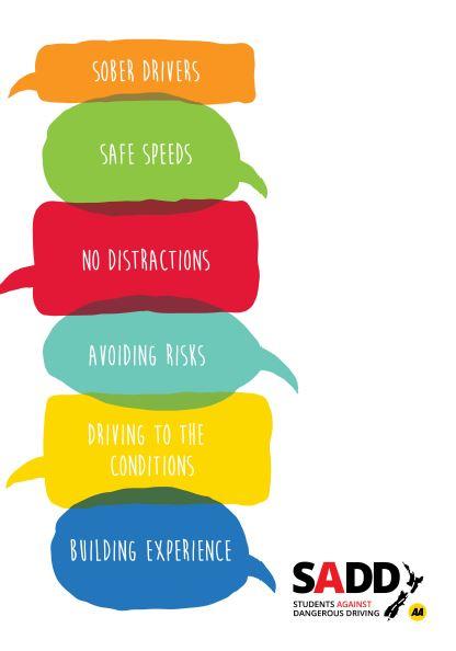 Six principles - A4 poster