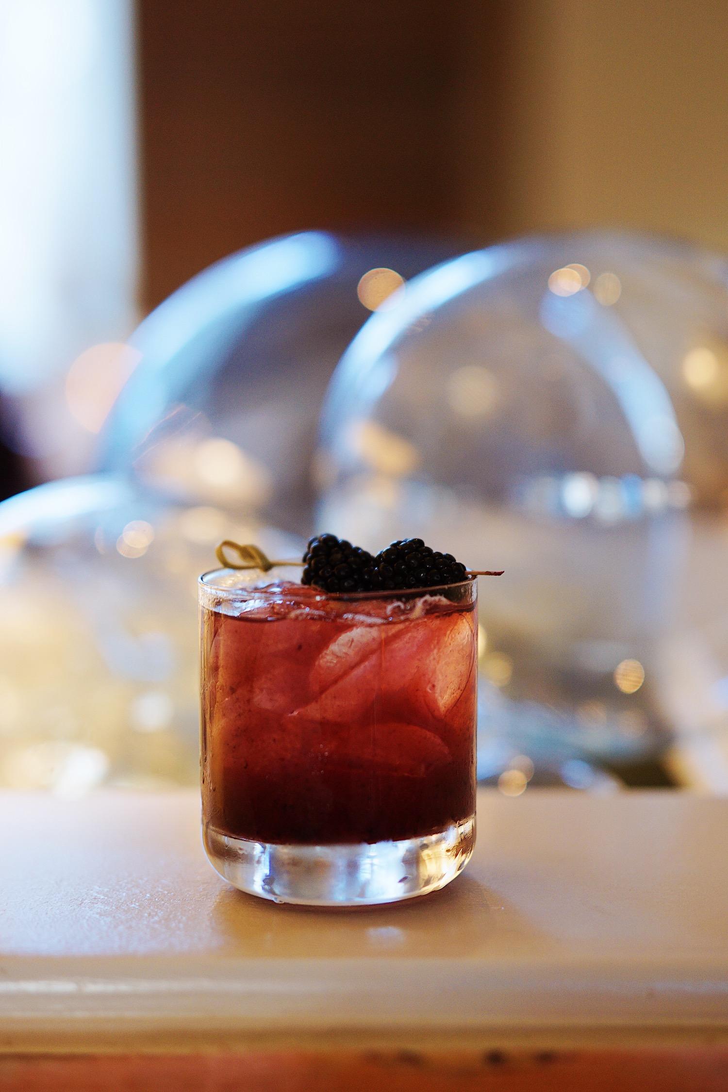 Bourbon Berry Bramble