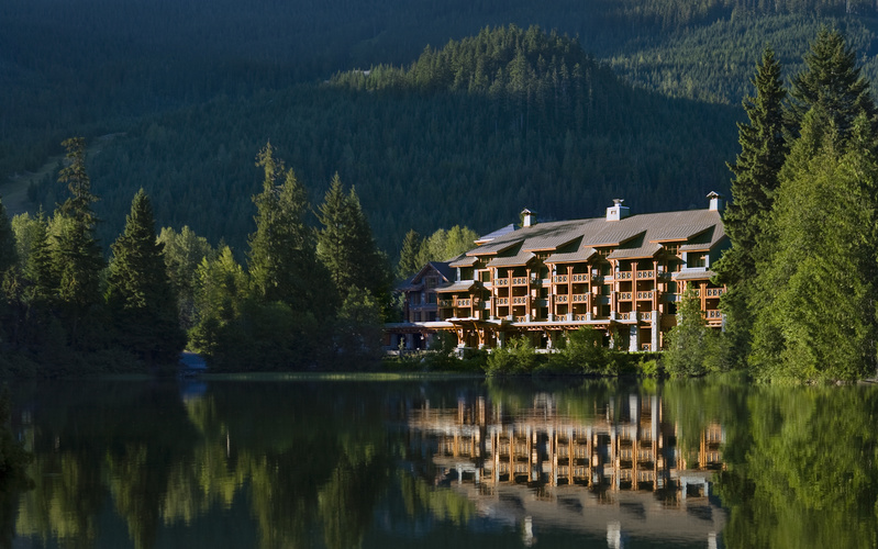 Beautiful Whistler, British Columbia. Oy Canada!