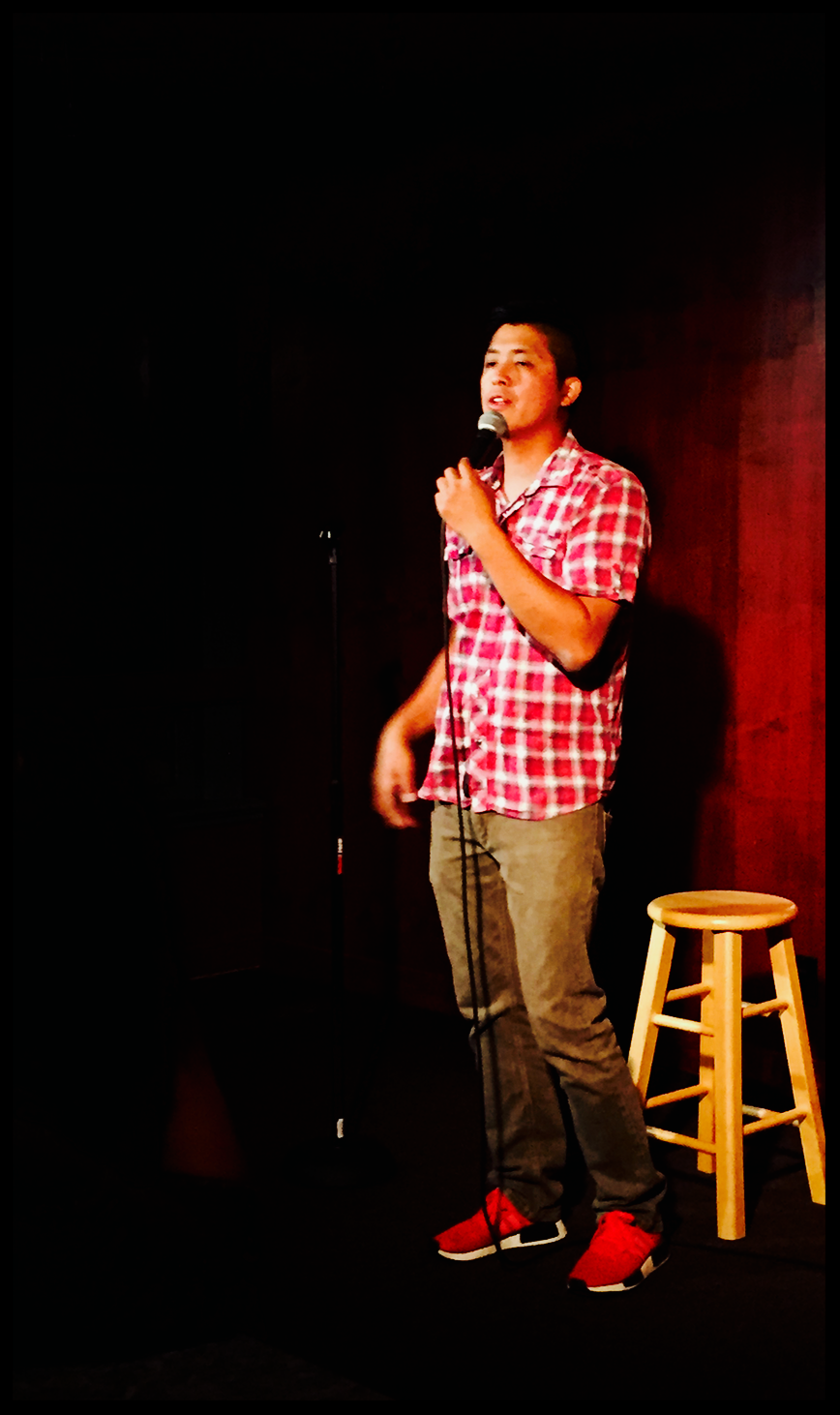 Red Rock Coffee.  Mountain View, CA.  Comedians@RedRock.