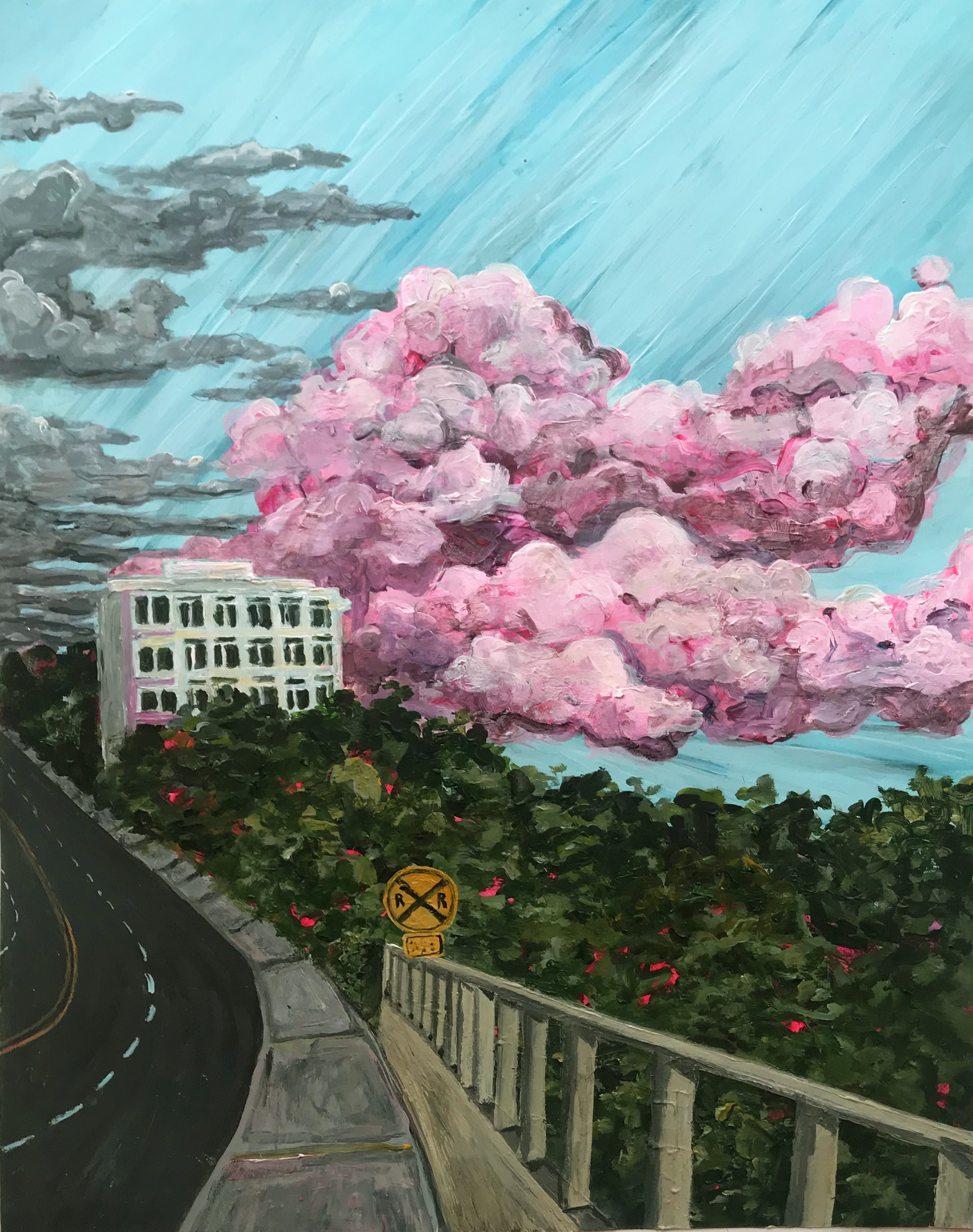 """""""Cotton Candy Clouds"""" (2018)"""