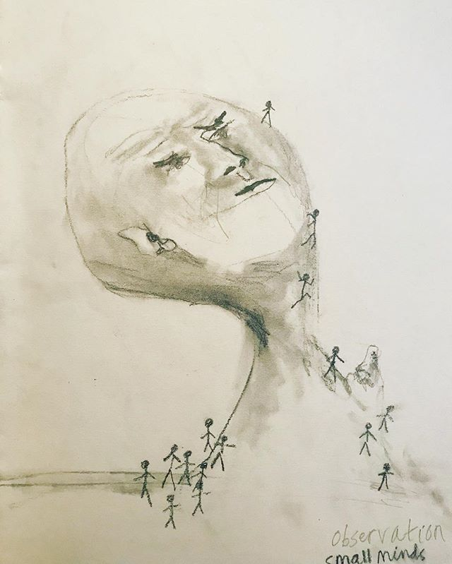 Drawing from 2016. . . . . . . #sketch #sketchbook #journal #pencildrawing #art nostalgia