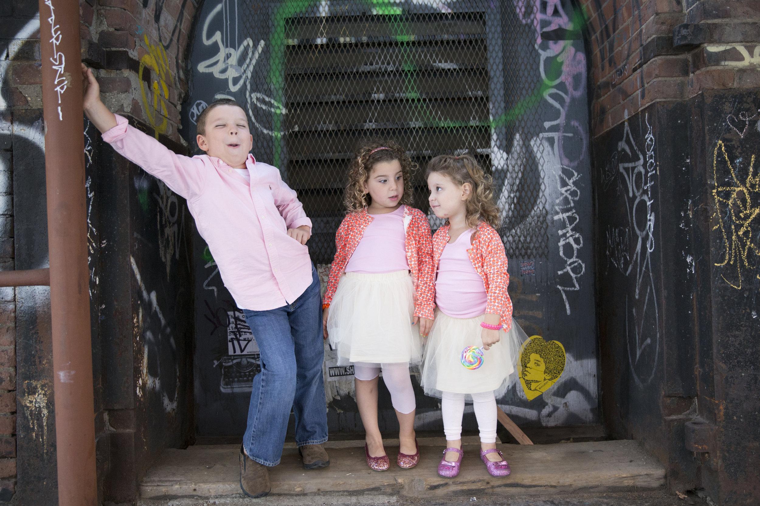 children's Photo shoot in Brooklyn NY