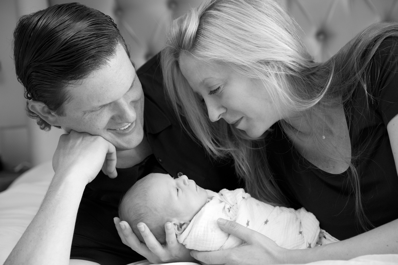 Family photography session celebrating their newborn boy. Manhattan to Long Island family photographer