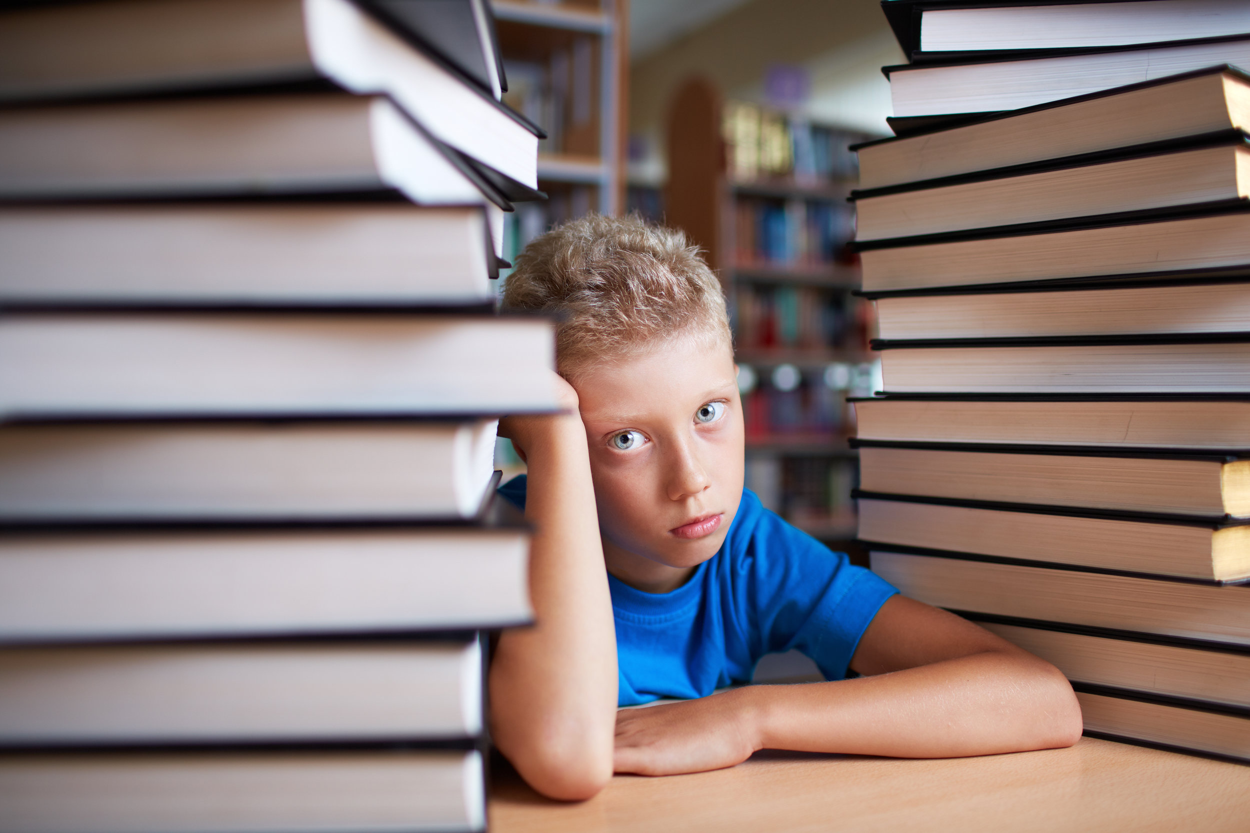 Is school more challenging than it should be? The listed behaviors may indicate a brain processing challenge.
