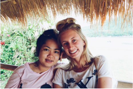 Grace and Olive in Chiang Mai