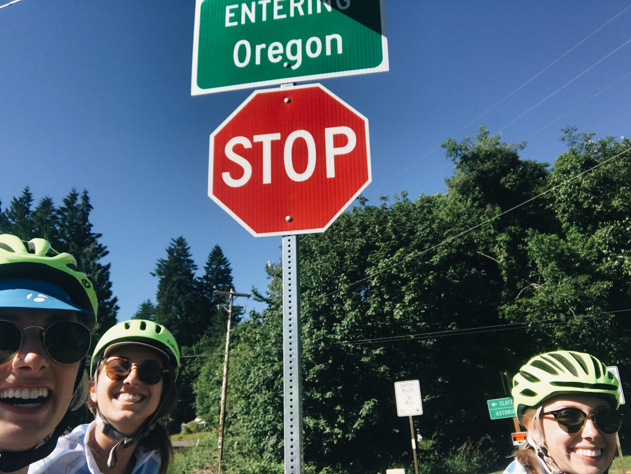 A very anti-climactic sign, but happy to be in OREGON!!!!!