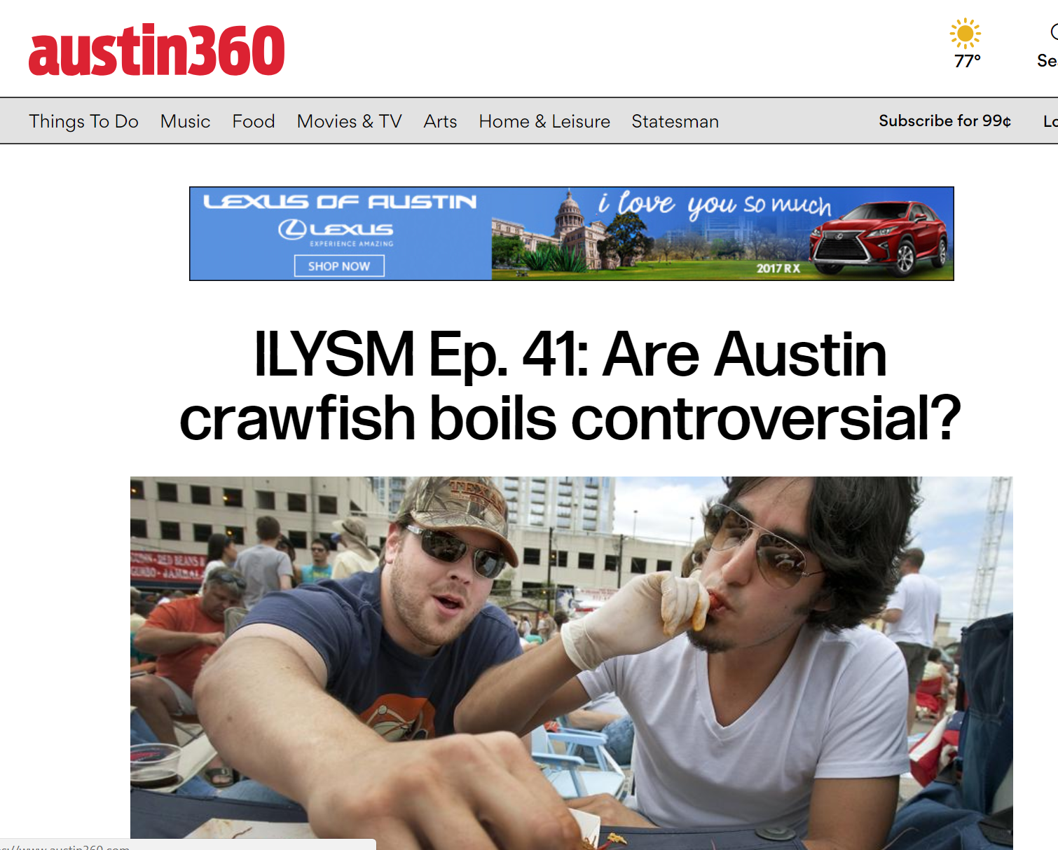 Austin 360 Podcast -