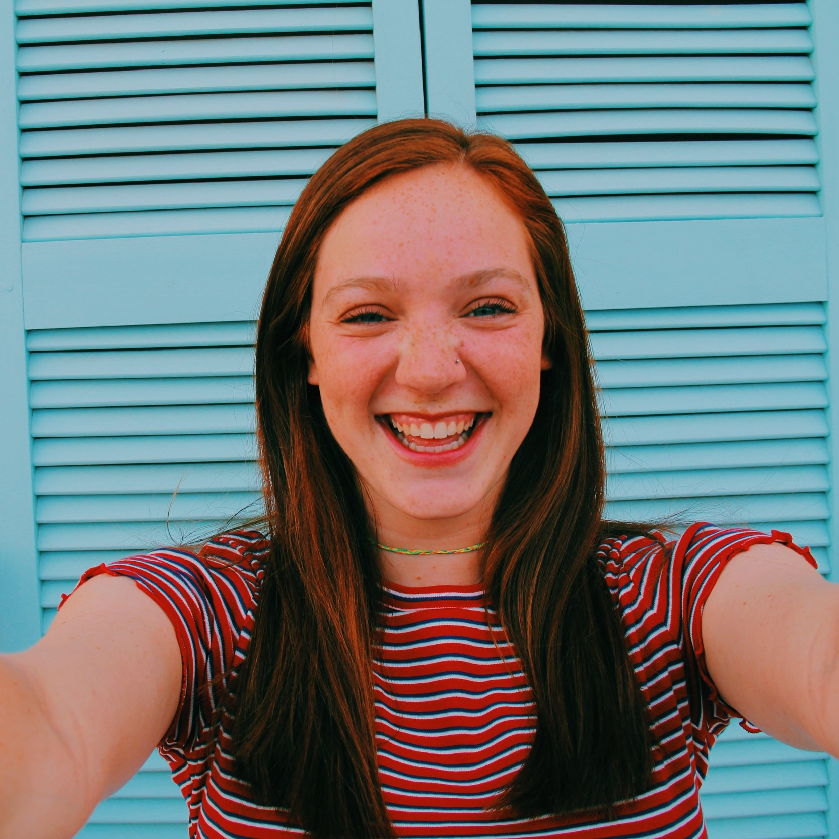 CHLOE STRINGER - I am a 20 year old Criminology student at the University of Arkansas and If you want to win my heart over tell me your hopes and dreams and then sing along to old One Direction in the car with me. A few things I'm a little obsessed with are Harry Styles, road trips, podcasts, true crime, coffee, and fighting for an America with true equality.Fayetteville, AR