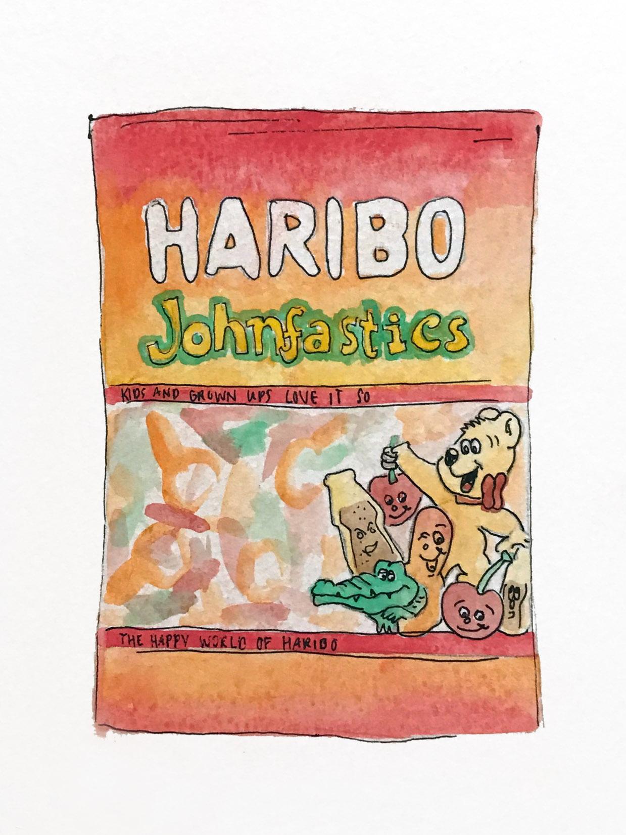 "Haribo ""Johnfastics"""