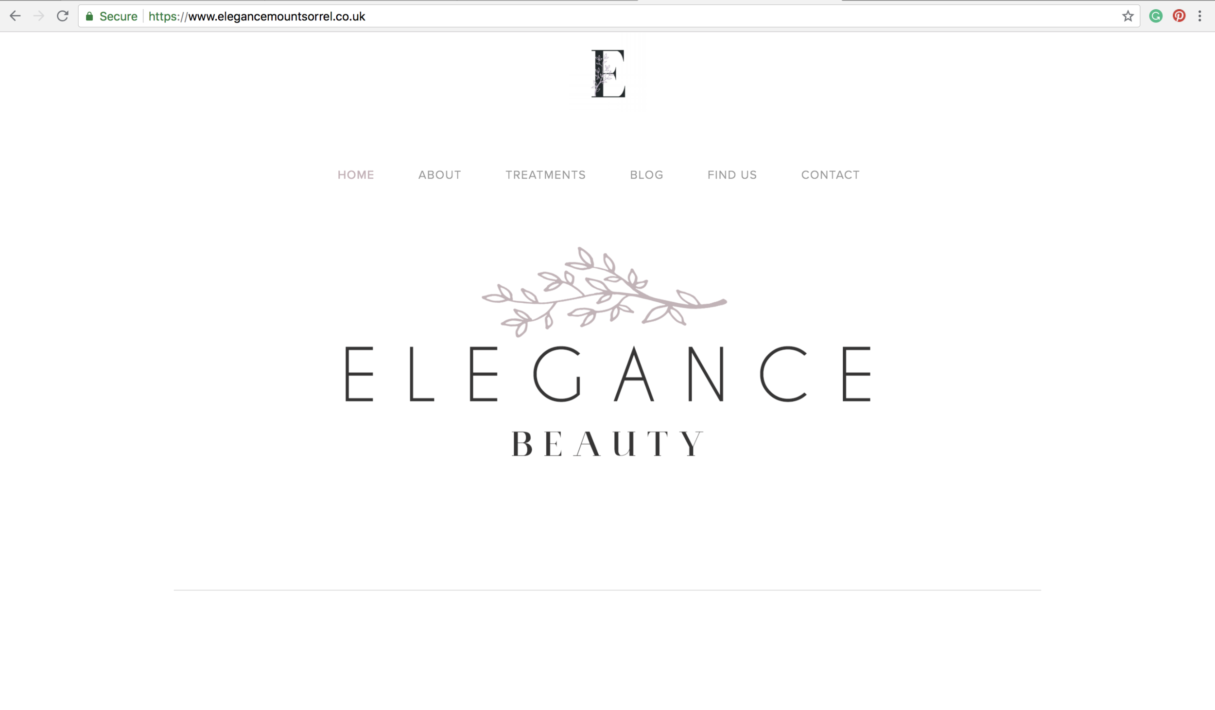 beauty salon websites loughborough
