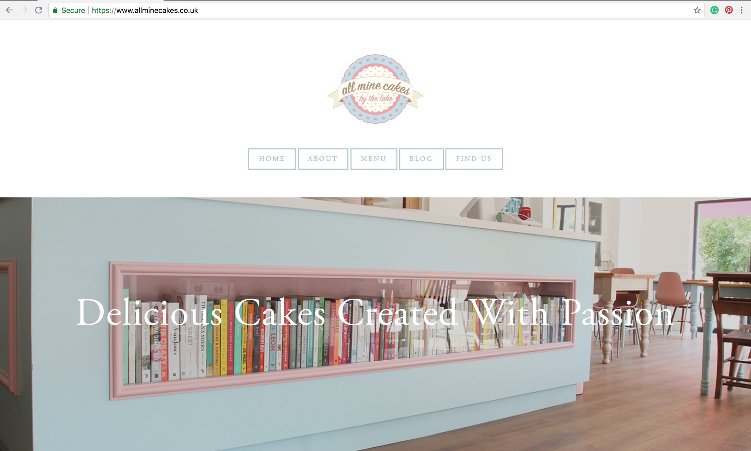 cafe website Southwell