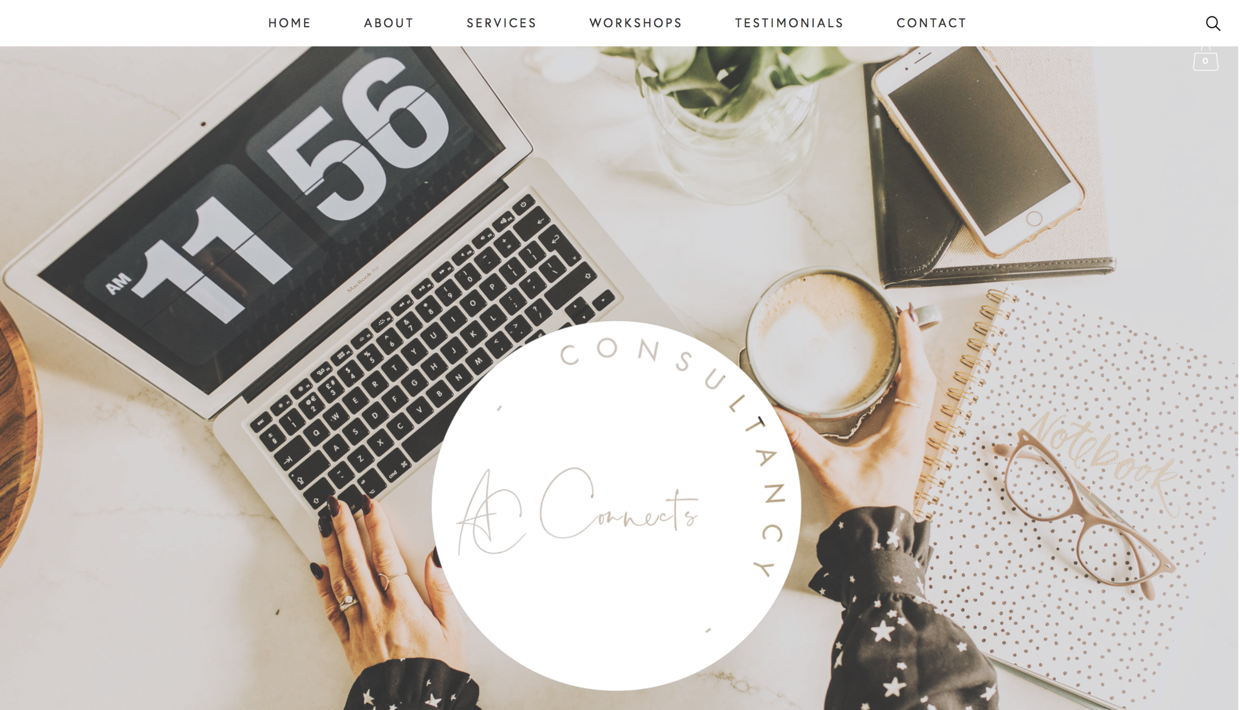 AC CONNECTS consultancy website