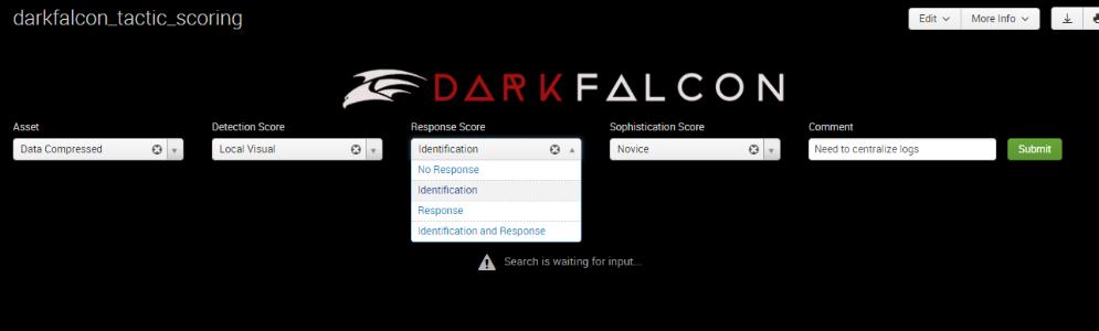 Scoring a MITRE ATT&CK Tactic in DarkFalcon