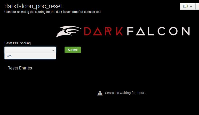 DarkFalcon POC Reset
