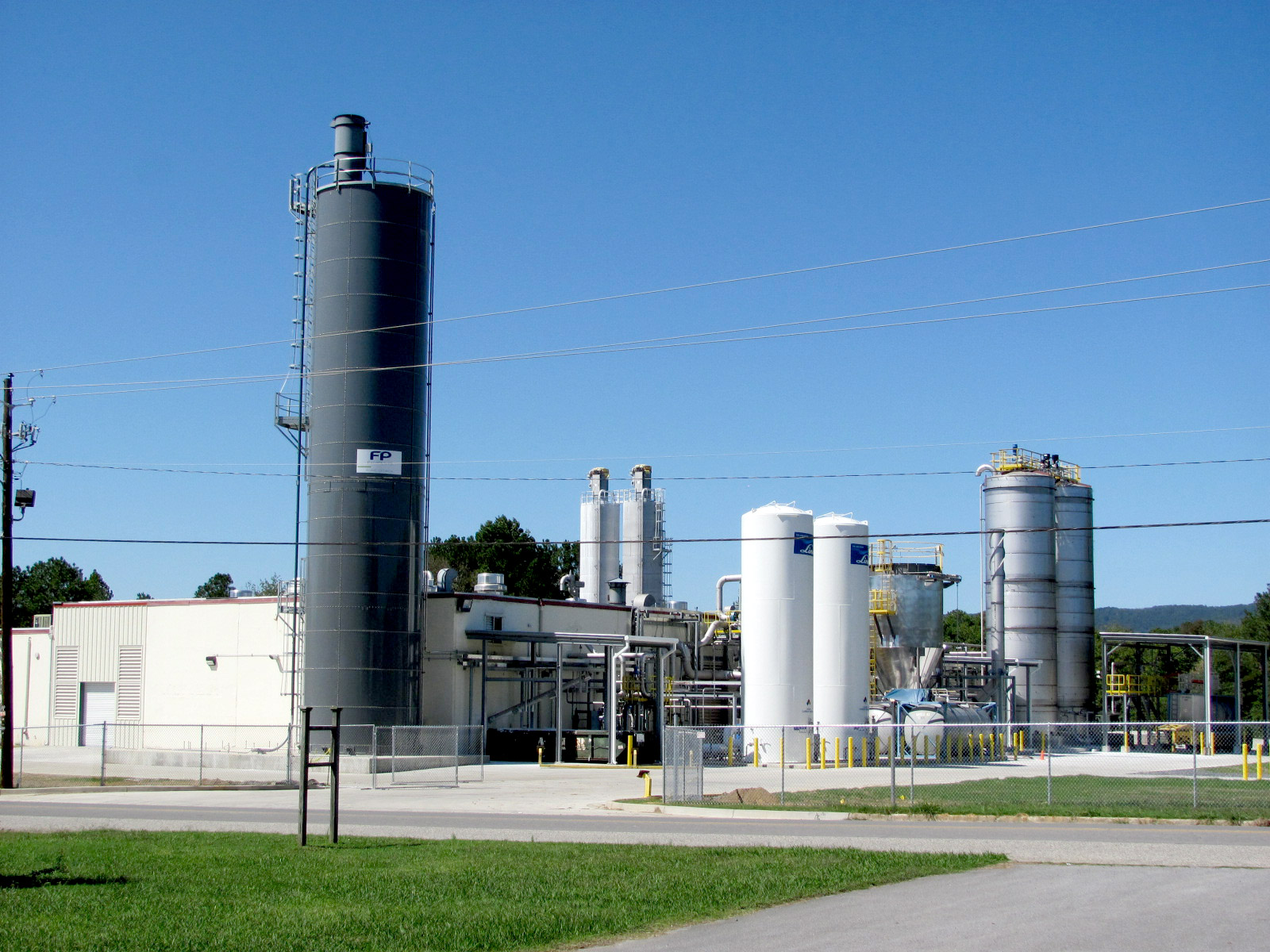 Opacity pigment production plant in Rome (GA), USA