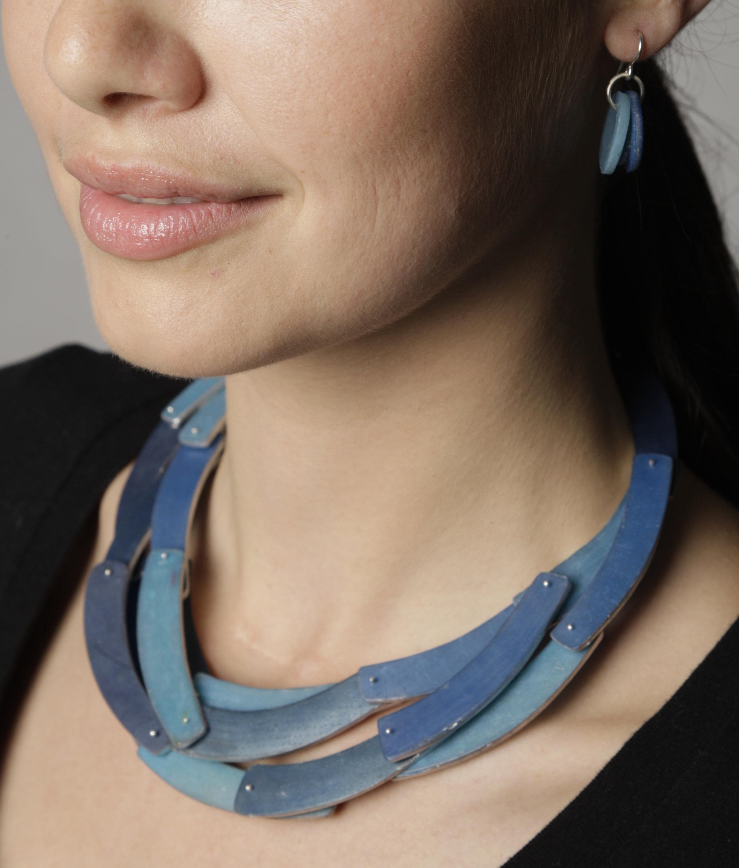 Triple Crescent Necklace