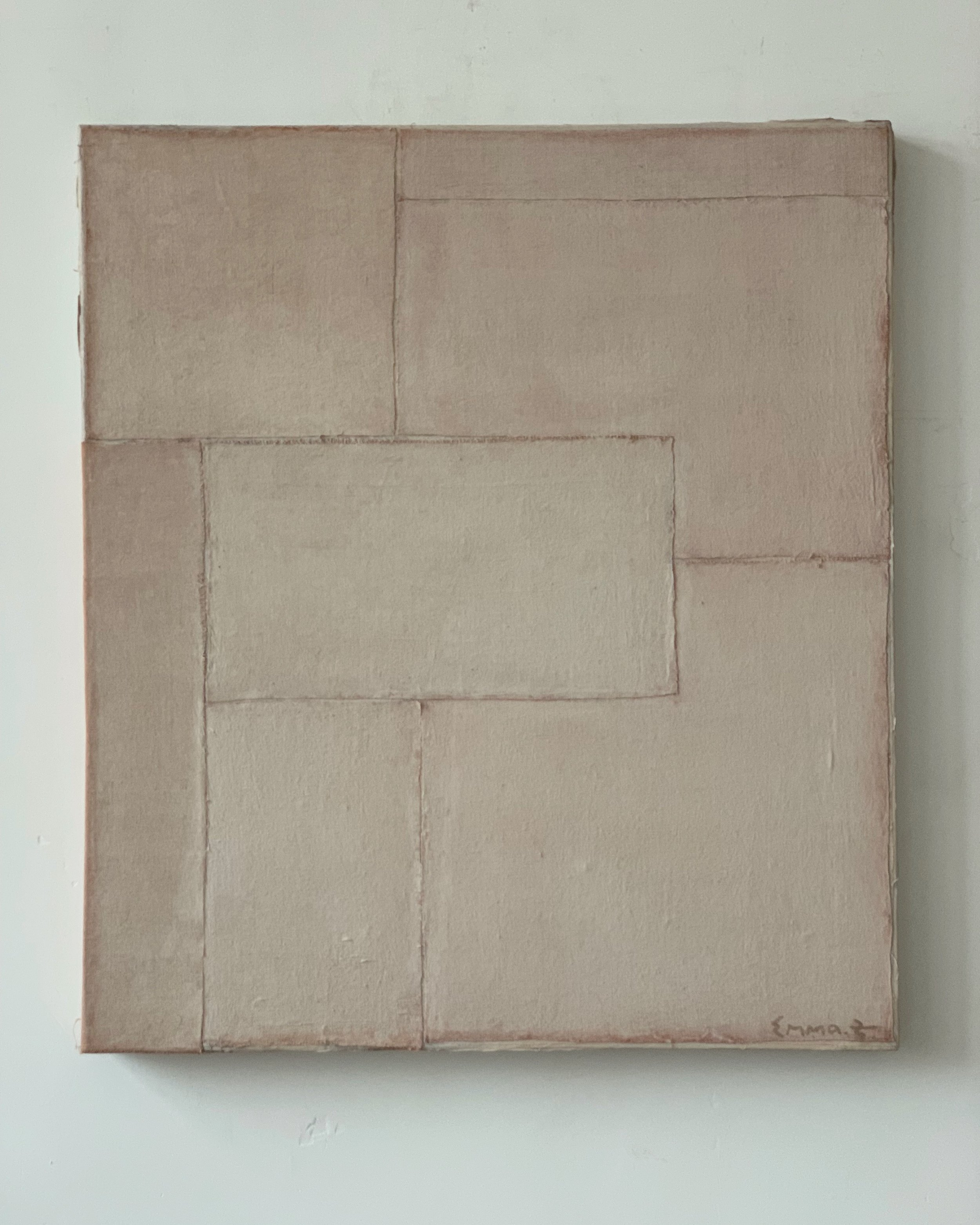 Untitled  Mixed media on canvas 31.50 x 27.56 inches 80 x 70 cm 2019