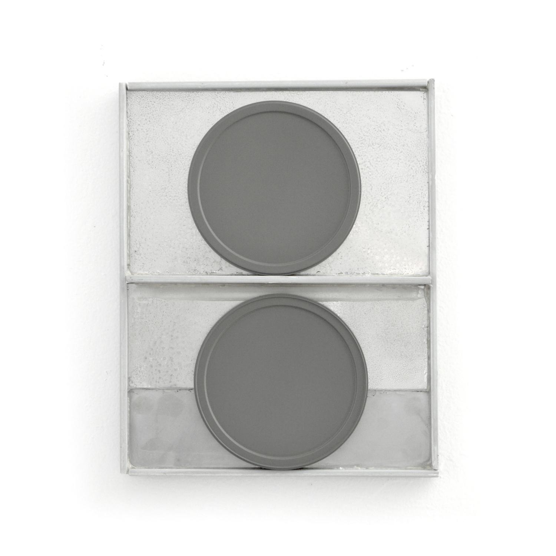 II Plates  Fiberglass, wood, plexi, plastic, enamel 8.5 x 10.5 x .5 inches 21.5 x 27 x 1.25 cm 2018