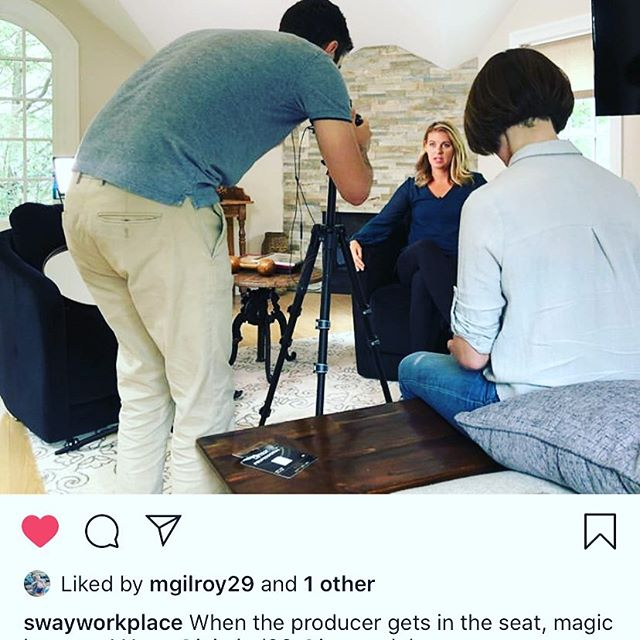Exciting thing are happening at @swayworkplace. They even convinced me to get in front of the camera which was a trip. Check us out www.swayworkplace.com it's all happening and we are ready to help you change your mindset and start swaying. @denisebrouder @jenevedube