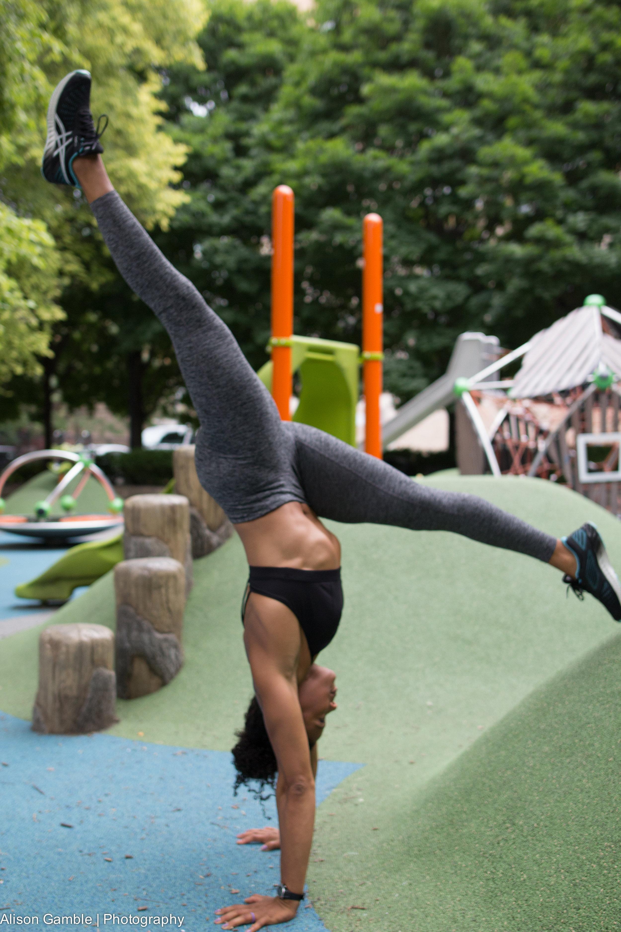 gymnastics series: handstands - click to register