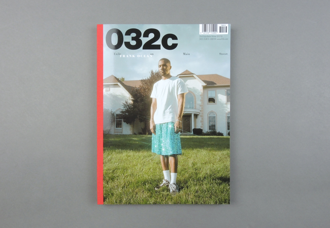 032c is a contemporary culture magazine that fiercely believes in the intelligence of its readers, and rises to the challenge of surprising them. Published twice a year, it is both timely and timeless – a celebration of and for the most cutting-edge in art, culture, and fashion.  Provenance: Berlin. Market price: 20 Euro