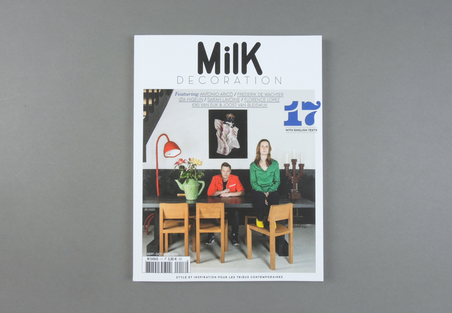 Launched in September 2012, the quarterly magazine Milk Decoration seeks to inspire contemporary, urban, post-Web 2.0 families in matters of decor, design, travel and lifestyle. Milk Decoration presents the latest trends in home decoration and innovations in design, some of the secrets behind successful interior decor, the home environment of style icons and sought-after destinations of the moment…  Provenance: Paris. Market price: 8 Euro
