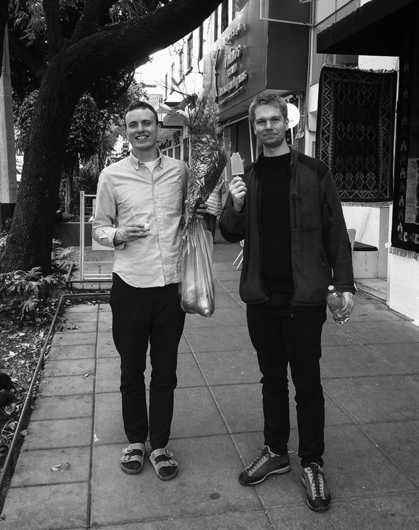 Sebastian and Jonas from Prolog coffee first visit Mexico City
