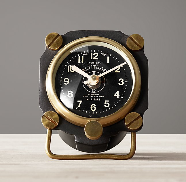 WWII Altimeter Clock
