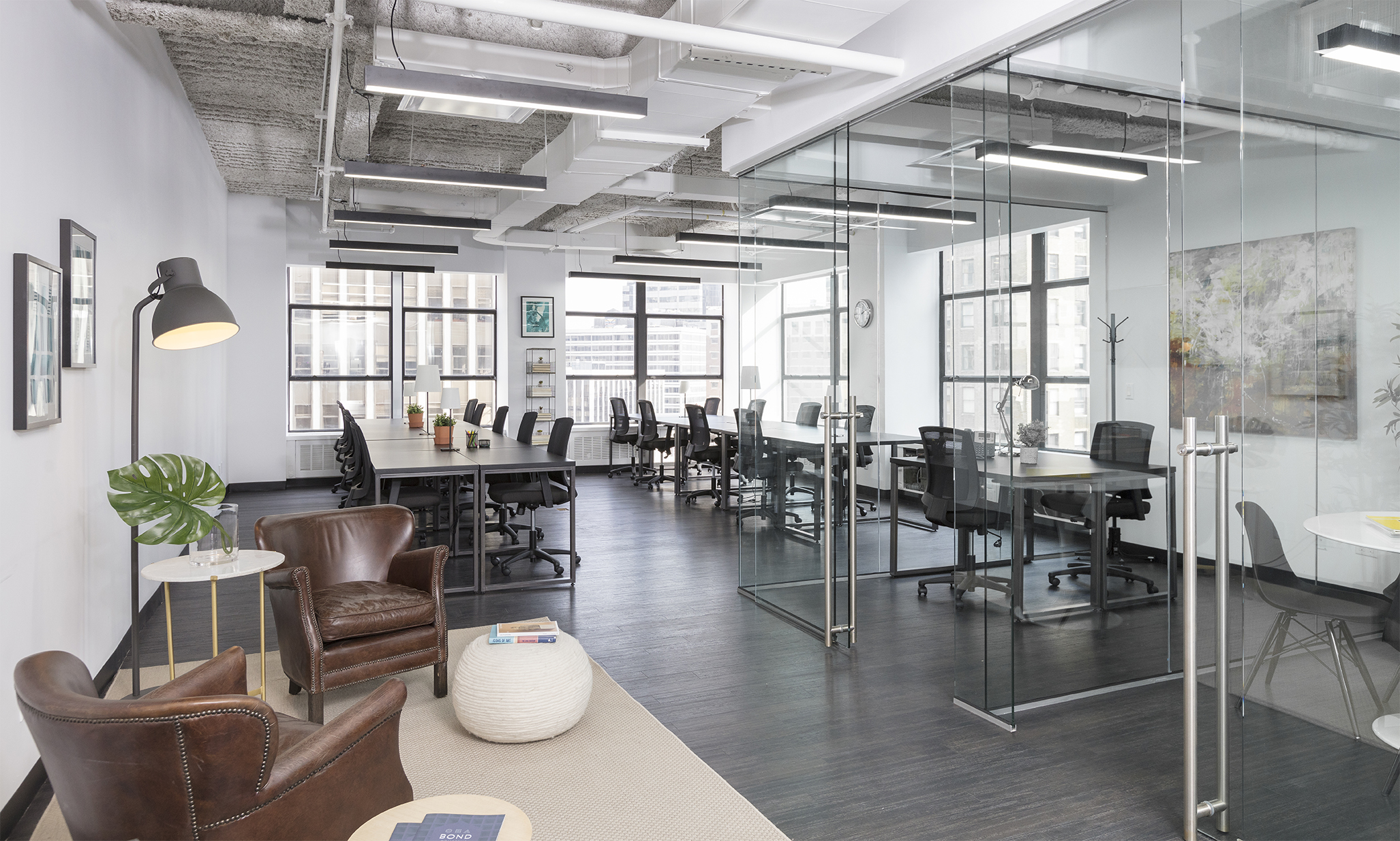 25 Person Suite located at BOND Collective's 60 Broad Street Location.