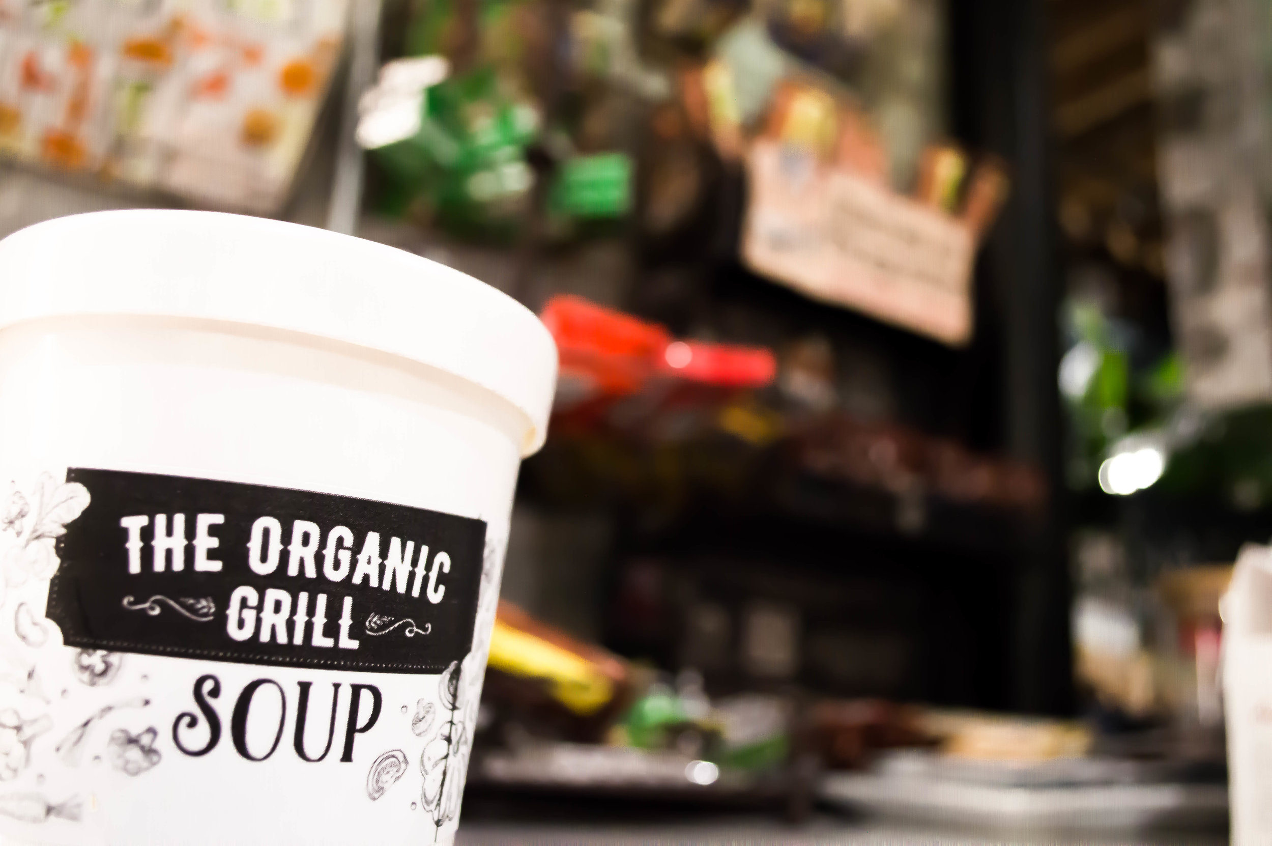 Soup from the Organic Grill