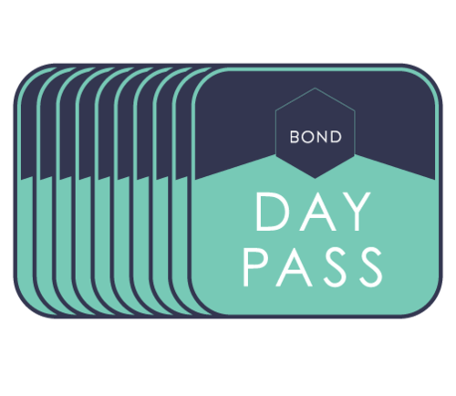 Stack of Bond Collective day passes