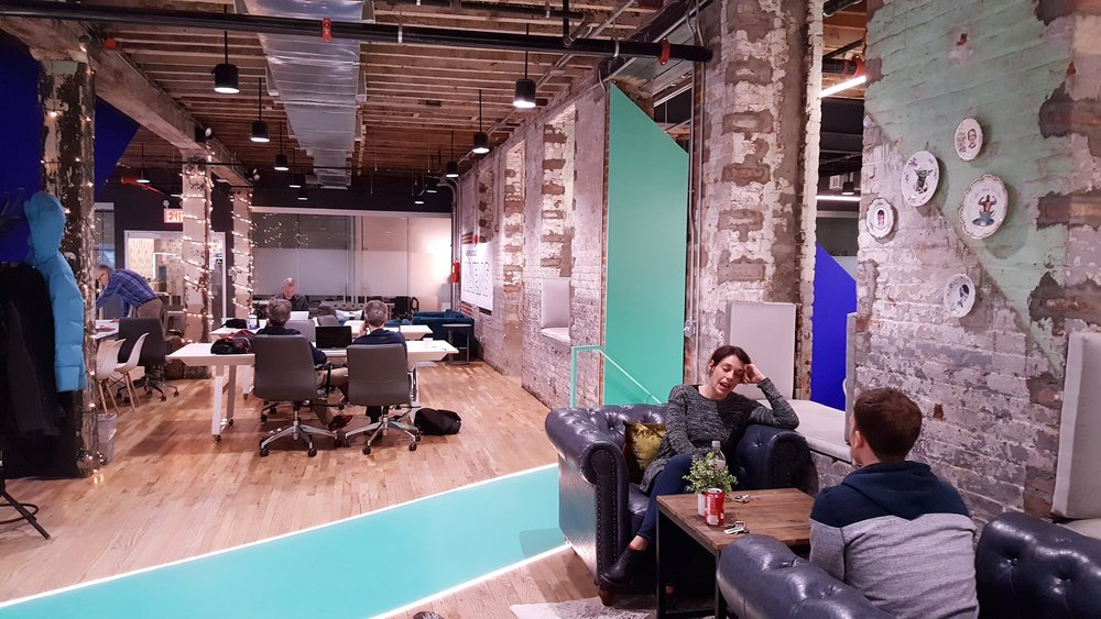Coworking spaces can exude an infectious energy that can revitalize a dormant space and inspire innovative thinking.