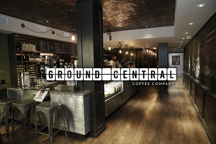 Interior of Ground Central Coffee Company