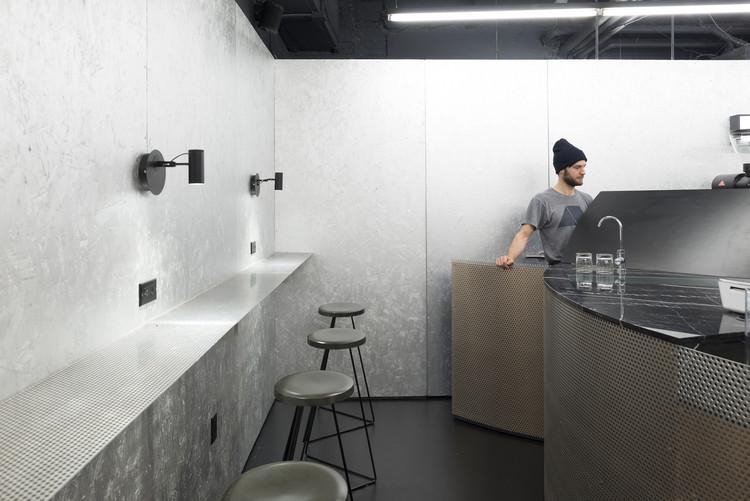 Interior of Voyager Espresso