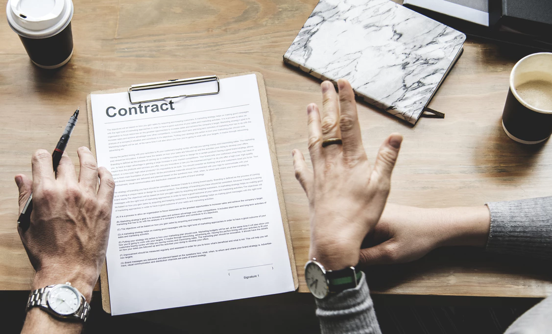 Contract For A Cap Table