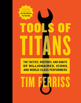 Cover of Tools Of Titans by Tim Ferriss
