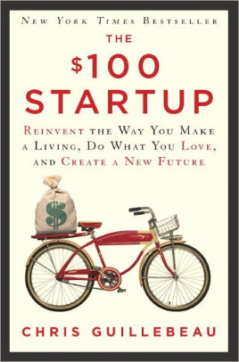 Cover of entrepreneur book The $100 Startup