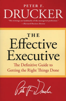 Cover of the book The Effective Executive