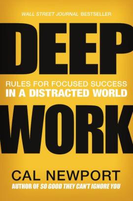 Cover of best entrepreneur book Deep Work