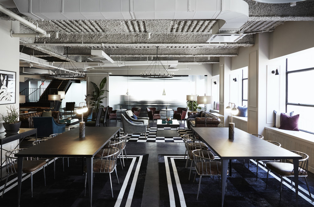 Shared open office space