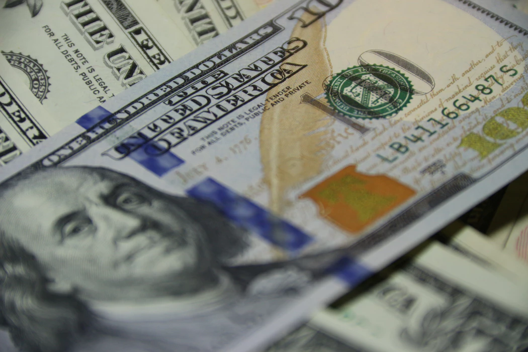 close up of cash in US dollars