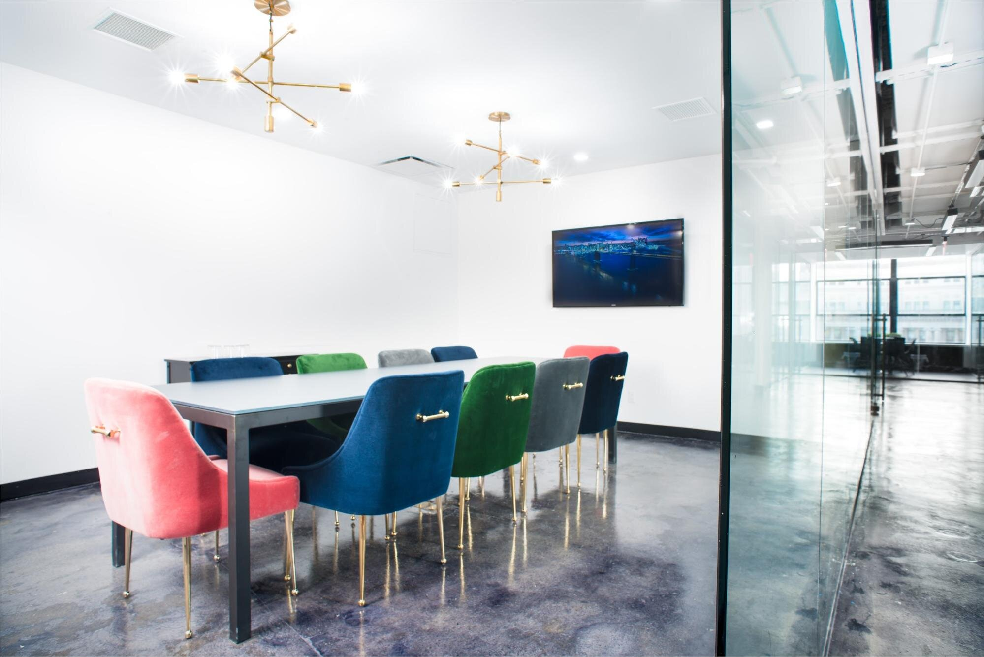 Coworking space at Bond Collective