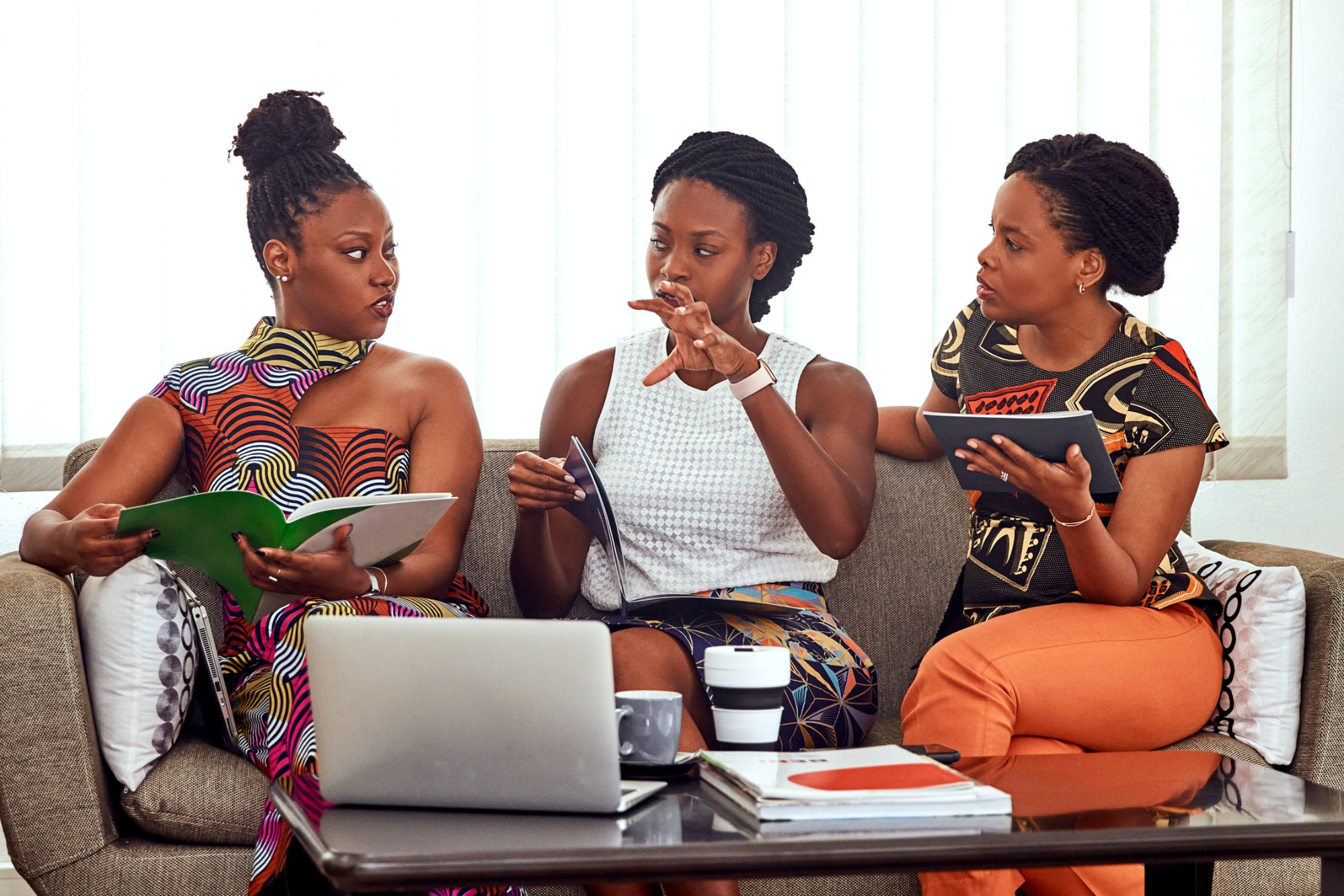 women getting together starting a consulting business