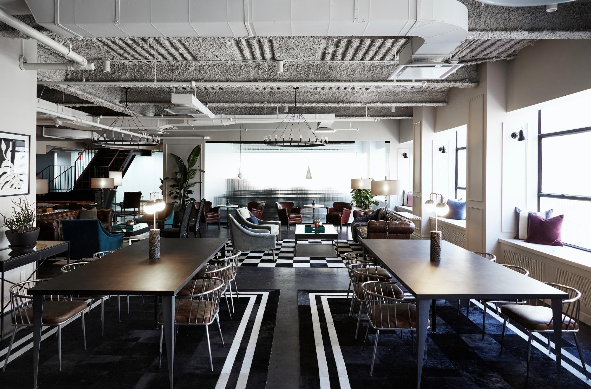 Inside flexible workspace