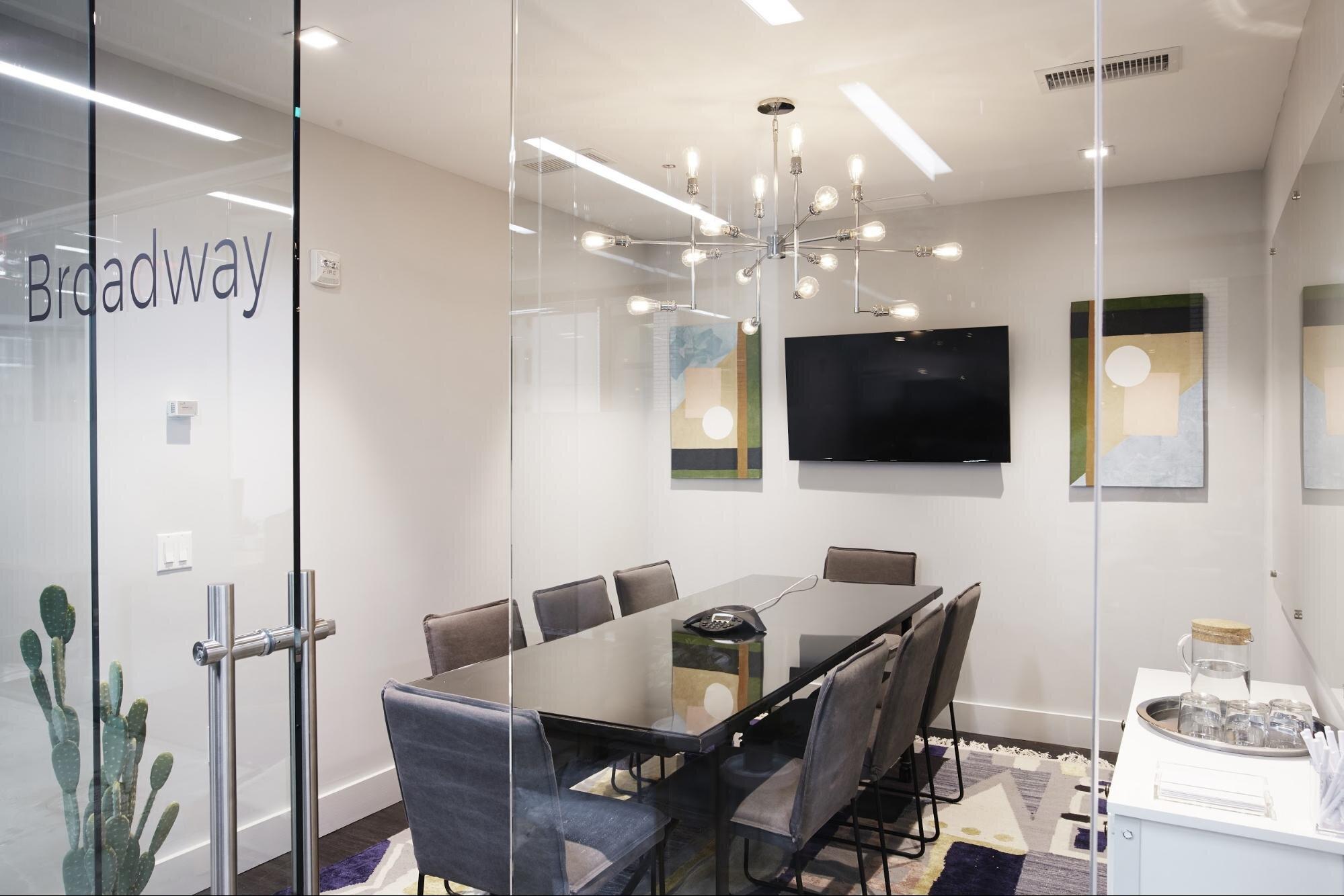 Office meeting space